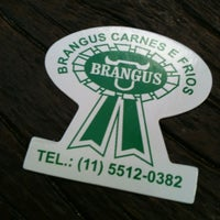 Photo taken at Brangus by Rodrigo R. on 6/17/2012