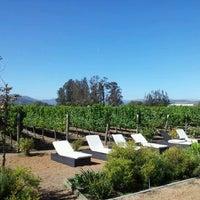 Photo taken at Viña Casas Del Bosque by MARCO M. on 3/1/2012
