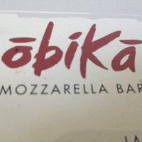 Photo taken at Obicà Mozzarella Bar Pizza e Cucina by Bryan F. on 4/5/2012