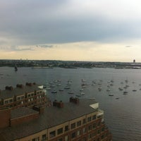 Photo taken at Boston Harbor Hotel by Lili J. on 6/8/2012