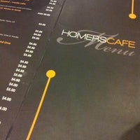 Photo taken at Homers Cafe by Winkie N. on 8/12/2012