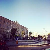 Photo taken at Stazione di Pompei by Stan P. on 6/5/2012
