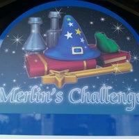 Photo taken at Merlin's Challenge by Allan M. on 2/20/2012