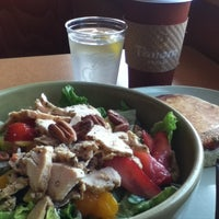 Photo taken at Panera Bread by Jane S. on 6/22/2012