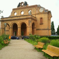 Photo taken at S Anhalter Bahnhof by Karlsruher2 on 7/15/2012