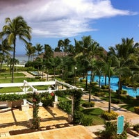Photo taken at Sugar Beach Mauritius Hotel Resort & Spa by Alexey C. on 4/16/2012