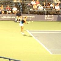 Photo taken at Connecticut Tennis Center by Karen D. on 8/22/2012