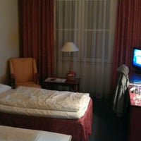 Photo taken at SORAT Hotel Brandenburg by Jay R. on 2/9/2012