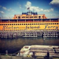 Photo taken at Staten Island Ferry - St. George Terminal by Sivan F. on 7/5/2012