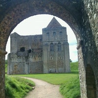 Photo taken at Castle Rising Castle by Adrian B. on 8/5/2012
