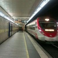 Photo taken at RENFE Passeig de Gràcia by Black M. on 3/16/2012