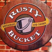 Photo taken at Rusty Bucket Restaurant and Tavern by T.J. H. on 3/17/2012