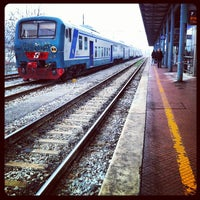 Photo taken at Stazione Prato Centrale by Ale D. on 3/2/2012