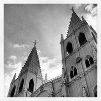 Photo taken at Minor Basilica of San Sebastian (Shrine of Our Lady Of Mount Carmel) by Jasper (. on 4/6/2012