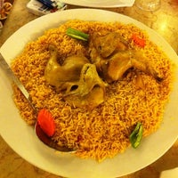Photo taken at Al Rawsha Restaurant by Dion L. on 3/5/2012