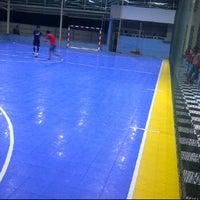 Photo taken at MSC Futsal (First Internasional Futsal Court In Tabalong) by Bagio W. on 4/11/2012