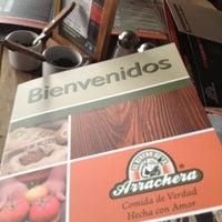 Photo taken at El Rincon de La Arrachera - Las Américas by Angel M. on 5/10/2012
