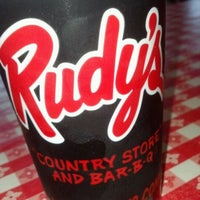 Photo taken at Rudy's Country Store And Bar-B-Q by Jordan T. on 3/25/2012