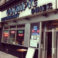 Photo taken at Olympic Diner by Phil O. on 4/21/2012