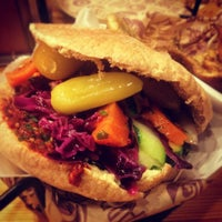 Photo taken at The Hummus & Pita Co by Ed S. on 8/11/2012