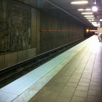 Photo taken at MARTA - Arts Center Station by Veronica T. on 6/27/2012