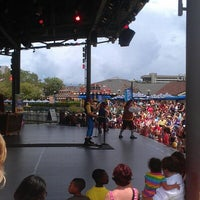 Photo taken at Waterside Stage by Amanda Y. on 8/5/2012