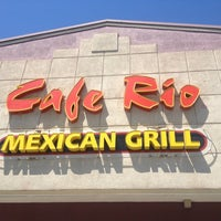 Photo taken at Cafe Rio Mexican Grill by Jared L. on 6/14/2012