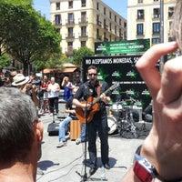 Photo taken at Plaza de Lavapiés by Jose R. on 5/27/2012
