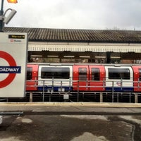 Photo taken at Ealing Broadway Railway Station (EAL) by Marcelo A. on 3/17/2012