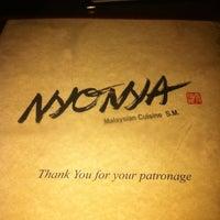 Photo taken at Nyonya by Michael K. on 4/6/2012