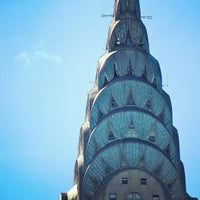Photo taken at Chrysler Building by Jeffrey Z. on 4/22/2012