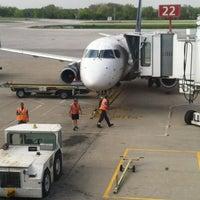 Photo taken at John Glenn Columbus International Airport (CMH) by Jeffrey M. on 4/20/2012
