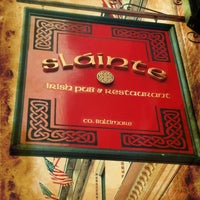Photo taken at Sláinte Irish Pub by Mark K. on 7/10/2012