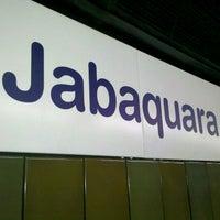 Photo taken at Estação Jabaquara (Metrô) by Gustavo H. T. on 2/20/2012