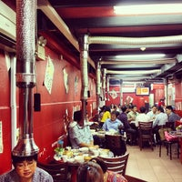 Photo taken at Red Pig Korean Restaurant (빨간돼지 한국식당) by Noel Y. on 5/9/2012