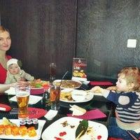 Photo taken at Izumi Sushi by Konstantin G. on 3/10/2012