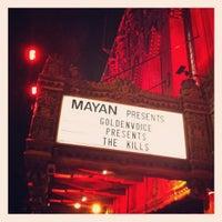 """Photo taken at Mayan Theater by Derek """"d☊rewreck"""" Schaefer on 8/14/2012"""