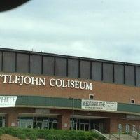 Photo taken at Littlejohn Coliseum by David W. on 4/16/2012