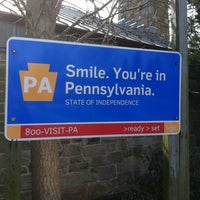 Photo taken at Pennsylvania Welcome Center by Rick D. on 2/21/2012