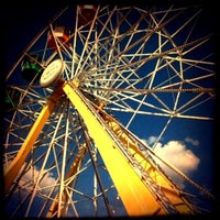 Photo taken at Six Flags Fiesta Texas by Max E. on 8/20/2012