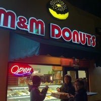 Photo taken at M&M Donuts by Chris L. on 3/18/2012