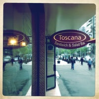 Photo taken at Toscana Sandwich and Salad Bar by Radu B. on 4/26/2012