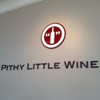 Photo taken at Pithy Little Wine Co. by Artie R. on 3/16/2012
