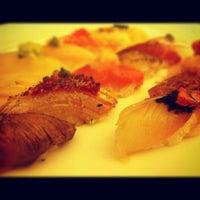 Photo taken at Yashin Sushi by Siwat M. on 7/8/2012