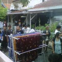 Photo taken at Kampung Batik by rusabawean on 3/11/2012