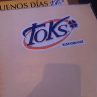 Photo taken at Toks Zinacantepec by oscar m. on 6/25/2012