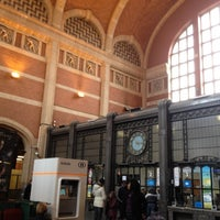 Photo taken at Gare de Verviers-Central by Kuniko O. on 4/9/2012