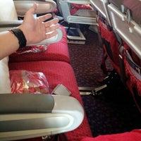 Photo taken at Virgin Atlantic Flight 18 by Steve L. on 7/17/2012