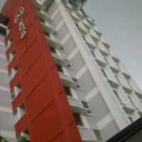 Photo taken at Gmi A2 Hostel Building by Muhammad N. on 4/15/2012