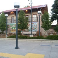 Photo taken at RTD Downtown Littleton Station by Patrick K. on 8/31/2012